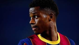 Jungstar Ansu Fati fehlt Spanien nächste Woche gegen die Schweiz