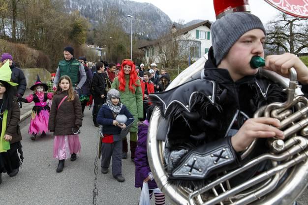 Kinderumzug und Kindermaskenball in Oberdorf. (8)