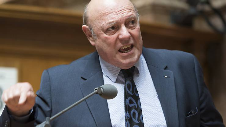 SVP-Nationalrat Ulrich Giezendanner.