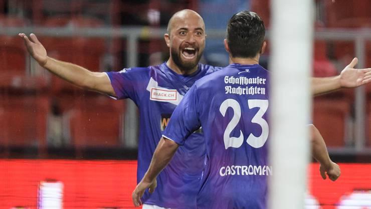 Tunahan Cicek bejubelt fast in jedem Spiel seine Tore