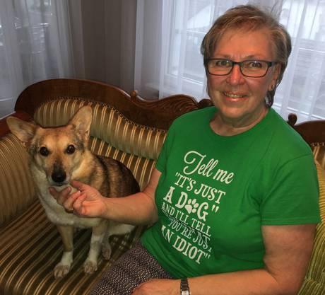 Von Yona bleiben keine Hinterlassenschaften draussen liegen. Dafür sorgt ihre Besitzerin Irene Kessler.