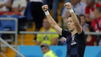 Impressionen zum Gruppenspiel Island - Kroatien