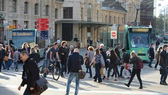 Das Entwicklungskonzept sieht unter anderem eine Entlastung des Centralbahnplatzes vor.
