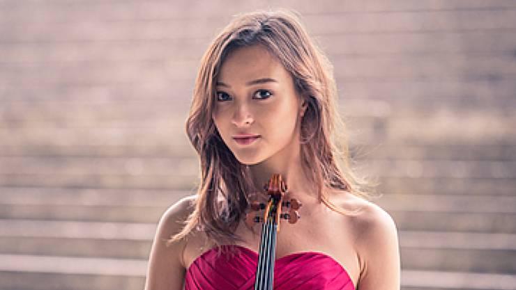 Die schweizerisch-japanische Doppelbürgerin Sumina Studer (21) ist eine von 44 Kandidaten, die nächste Woche in Genf zum weltweit wichtigsten Geigenwettbewerb antreten, dem Concours Menuhin. (zVg)