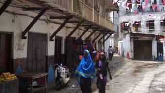 In der Altstadt von Sansibar, der Stone Town (Archiv)