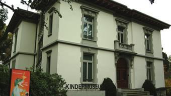 Das Kindermuseum Baden in der Villa Funk. HO