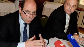 Mauro Tuena (links) und Roger Liebi: Die beiden SVP-Politiker haben die Stadtzürcher Oppositionspartei geprägt – jetzt wechseln sie die Bühne.