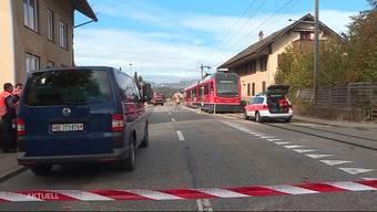 """Bis zu 15'000 Fahrzeuge und das """"Bipperlisi"""" zwängen sich täglich durch Aarwangen. Vor allem für Schulkinder ein gefährlicher Abschnitt."""
