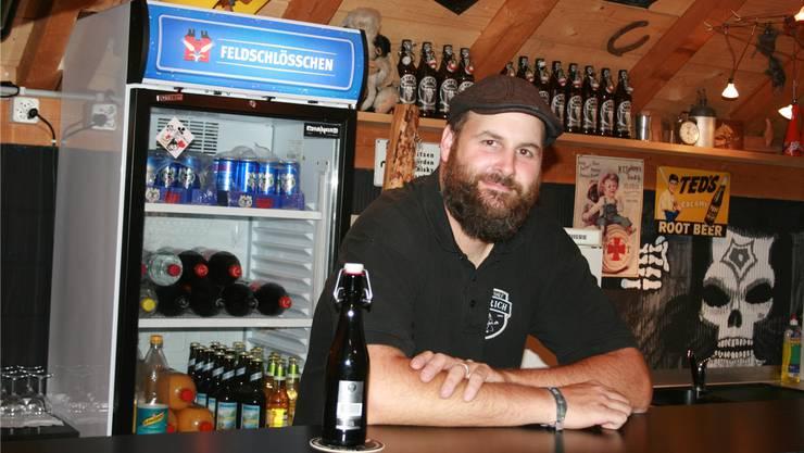 Michael Frei lanciert mit seinem Team ein Bierfest.