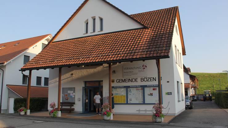Im Gemeindehaus Bözen findet am Freitag die Gemeindeversammlung statt.