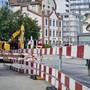 Der Bau der Limmattalbahn dominiert derzeit das Dietiker Strassenbild -er beherrschte auch die Fragestunde im Dietiker Parlament. (Archivbild)