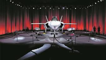 Der F-35 vom Hersteller Lockheed Martin gilt als modernster Kandidat im Rennen als neuster Kampfjet für die Schweizer Luftwaffe.  Atilgan Ozdil/Getty