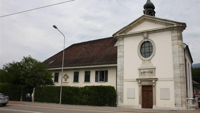 Das Altersheim St. Katharinen soll bis 2020 einen Anbau erhalten. (Wolfgang Wagmann)