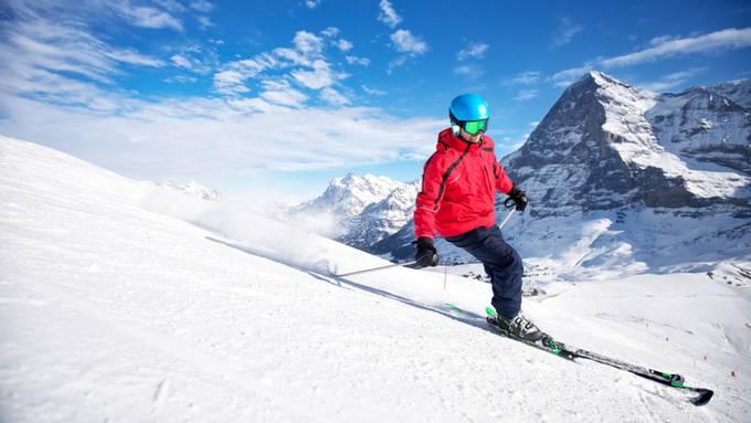 Eigernordwand als Touristenmagnet: Die Jungfraubahnen wollen ab 2021 maximal 17'000 Skifahrer gleichzeitig auf den Pisten.