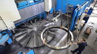 Die Maschinenbauindustrie legte besonders stark zu (Symbolbild).