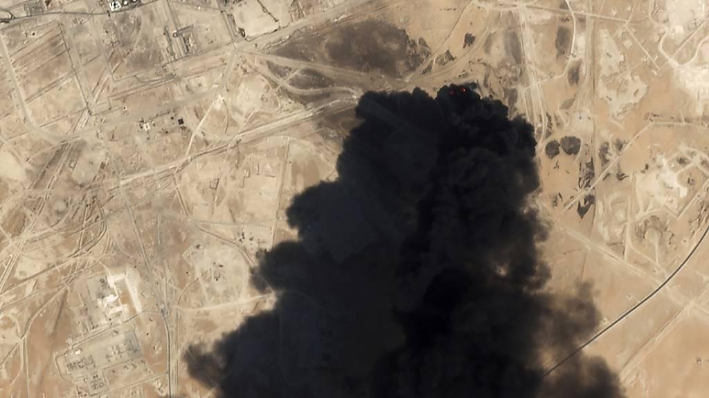 Angriffe auf Ölanlagen laut USA vom Iran aus verübt