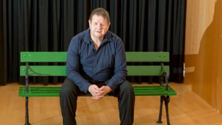 """Hanspeter Müller-Drossaart bringt den Roman """"Der Trafikant"""" von Robert Seethaler auf die Bühne des Sogar Theaters in Zürich. Premiere ist am 12. April 2018."""