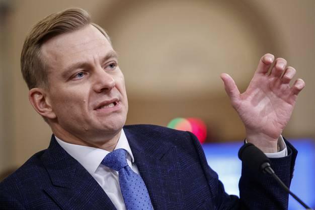 David Holmes, ein Mitarbeiter der US-Botschaft in Kiew.