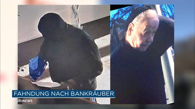 Grossfandung in Luzern: Bankräuber gesucht