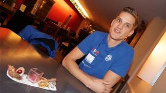 Erst mit 18 Jahren wechselte Marcel Häfliger zum Volleyballclub – nun mischt er mit Luzern die Nationalliga A auf.agu