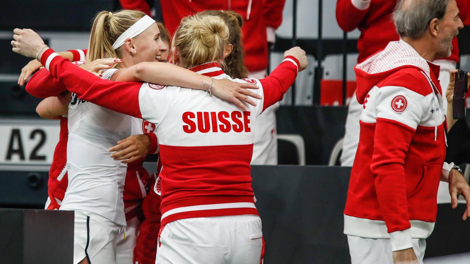 Fed Cup: Schweizerinnen auf Finalkurs