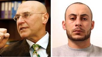 Valentin Landmann (links) soll Hassan Kiko (rechts) helfen. (Archivbild)