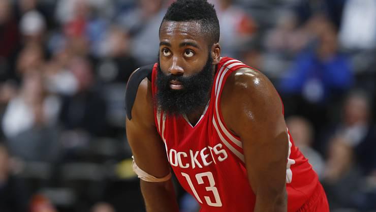33 Punkte von Houstons James Harden waren gegen die Sacramento Kings nicht genug