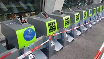 Am Bahnhof Luzern startet das neue Parking-System.