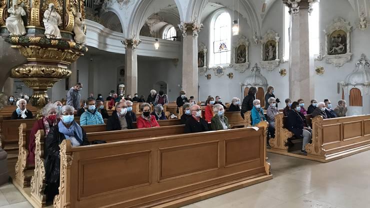 Pilgergruppen, wie hier aus Pratteln, konnten das Kloster Mariastein immerhin von Juni bis Oktober besuchen.