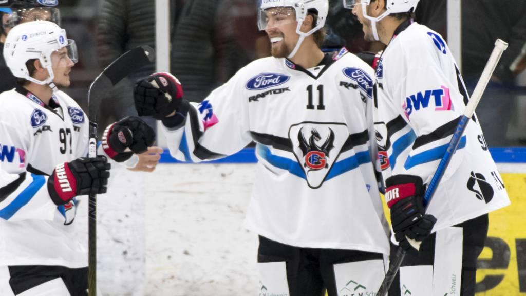 Den souveränsten Sieg holte sich Fribourg-Gottéron mit 9:1 in Martigny - schon nach 18 Minuten führte Gottéron 5:0