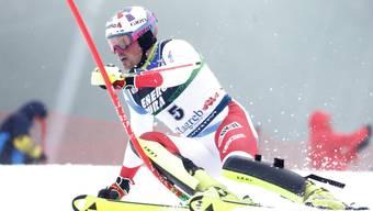 «Die Richtung stimmt»: Daniel Yule kann mit seinem zehnten Platz beim dritten Slalom der Saison ganz gut leben.