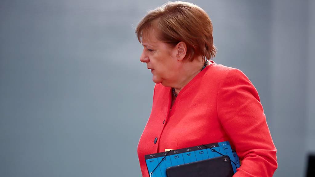 Merkel trifft Macron wenige Tage vor deutscher EU-Ratspräsidentschaft
