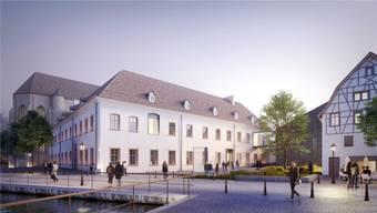 So wird das Kloster in Colmar nach der Renovation aussehen. zvg