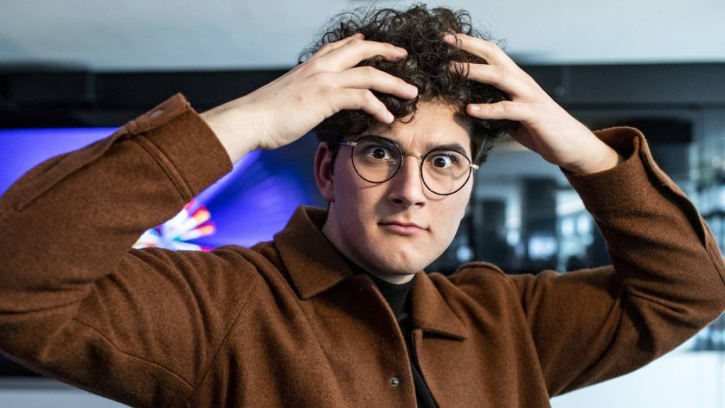 So, jetzt aber: Der Freiburger Sänger Gjon's Tears tritt 2021 mit «Tout l'univers» am Eurovision Song Contest in Rotterdam an.