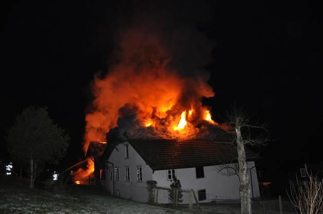 Beim Brand wurde niemand verletzt.