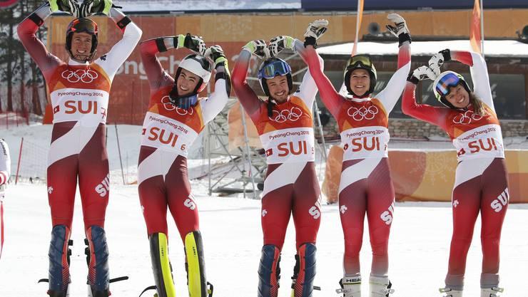 Die Schweizer Team-Olympiasieger