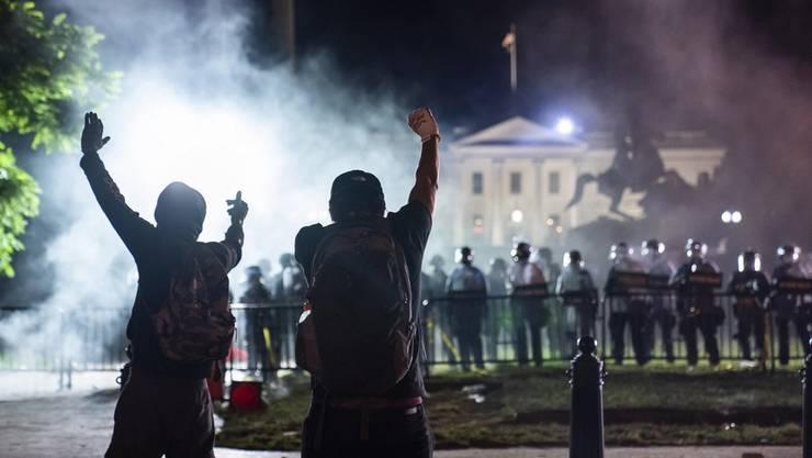 Die Proteste in den USA dauern an. Die Wut ist gross.