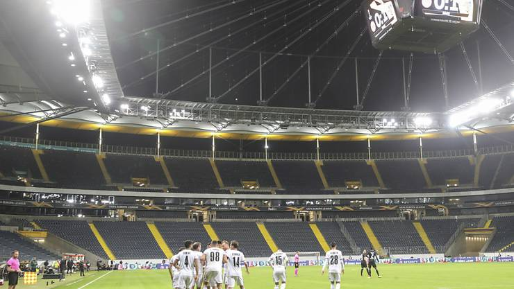 Der FC Basel stand vor neun Tagen in der Europa League gegen Eintracht Frankfurt im Einsatz