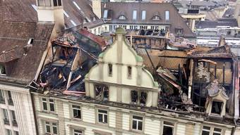 Grossbrand Zürich: Bilder vom Schaden, der am Samstag zu Tage tritt