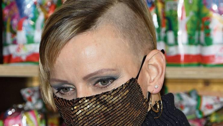 Gut rasiert: Fürstin Charlène von Monaco polarisiert mit Sidecut.