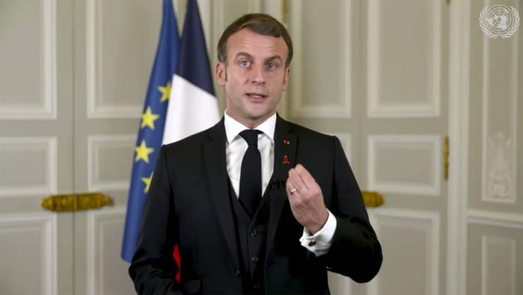 In Sachen Brexit Boris Johnsons härtester Widersacher: Frankreichs Präsident Emmanuel Macron.