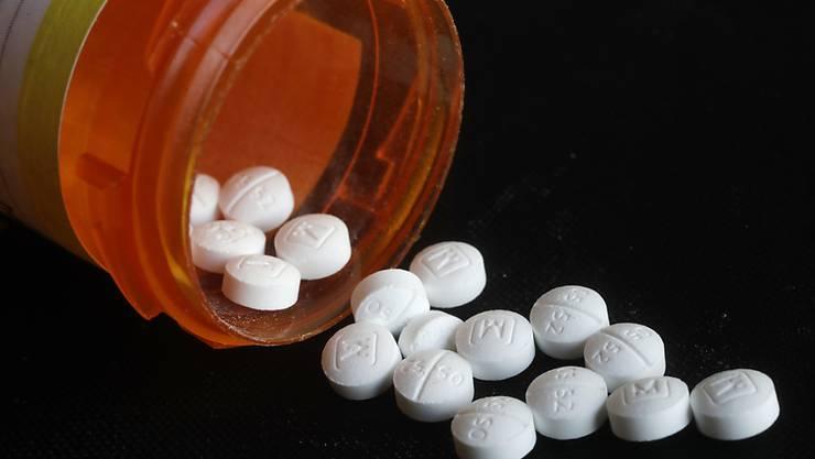 Vier Pharmakonzerne schliessen Vergleich vor Opioid-Prozess in den USA. (Archiv)