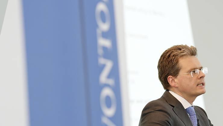 Vontobel-Chef Zeno Staub sieht Börsenvolatilität gelassen.