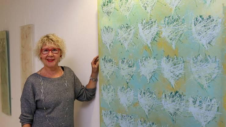 Ursula Pfister stellt bis zum 30. November im Kantonsspital Olten aus.