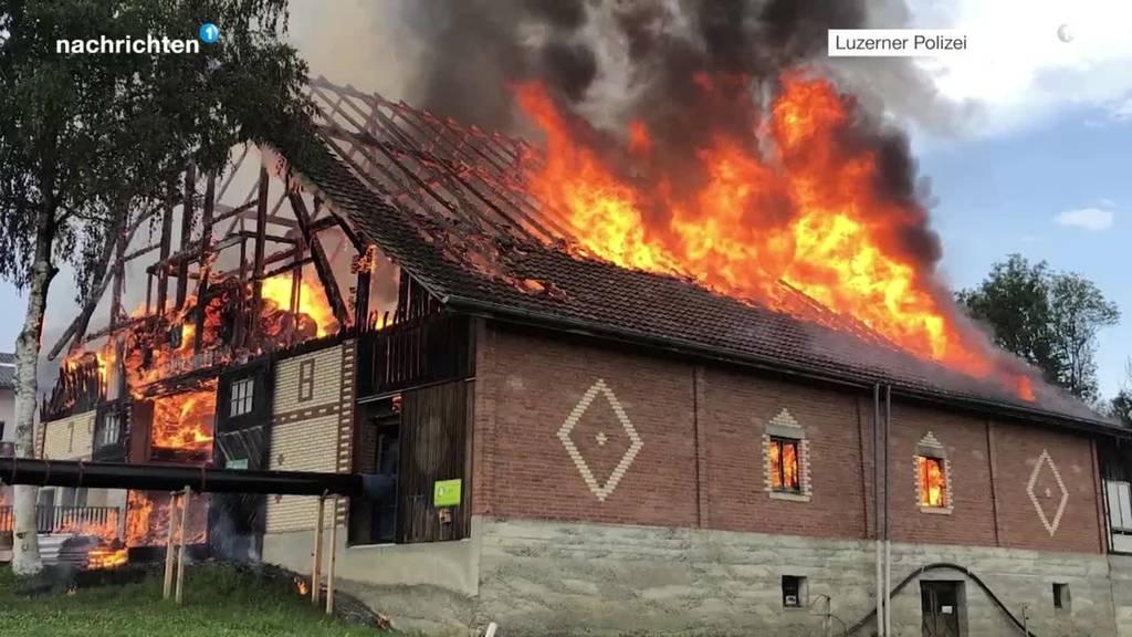 Scheunenbrand Triengen