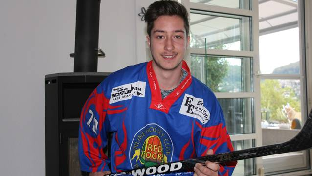 Remo Hunziker – Topscorer der Red Rocks Rothenfluh – will sein Team ins Playoff-Finale schiessen.