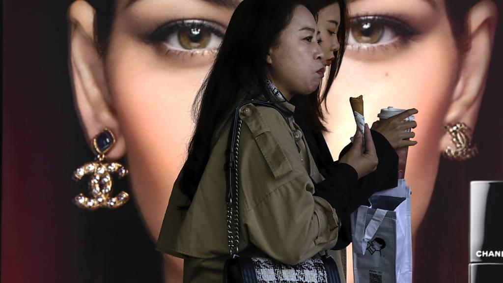 Chinas Industrie wächst und Konsumenten sind in Kauflaune