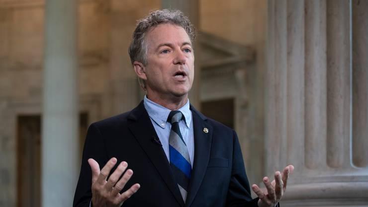 Hat eingelenkt: Der republikanische Senator Rand Paul will über das revidierte Doppelbesteuerungsabkommen beraten.