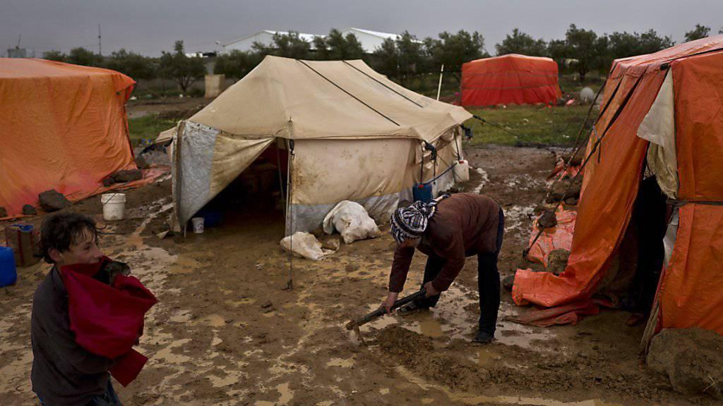 In Jordanien (Bild) stellen Syrer zehn Prozent der Bevölkerung. Die Hilfsorganisation kritisiert, dass reiche Länder sich nicht zur Aufnahme einer grösseren Anzahl der Millionen syrischen Flüchtlinge bereit erklären.