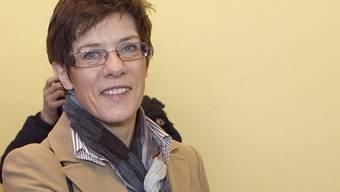 Die Ministerpräsidentin vom Saarland Annegret Kramp-Karrenbauer